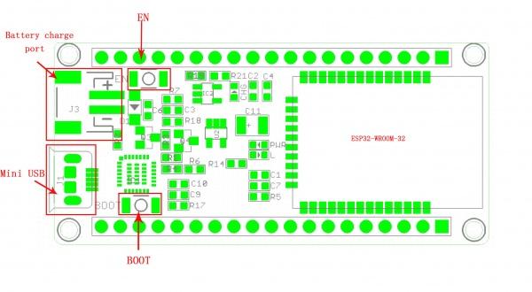 ESP32 WiFi BT Board | MYBOTSHOP DE, 21,95 €