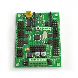 Lynxmotion SSC32 Servocontroller mit dem Raspberry Pi betreiben