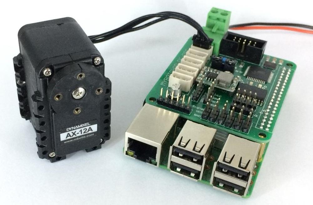 Raspberry Pi Dynamixel Servo Controllerboard