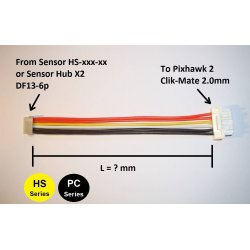 MAUCH 086 Pixhawk 2 Sensor Board Adapter Kabel