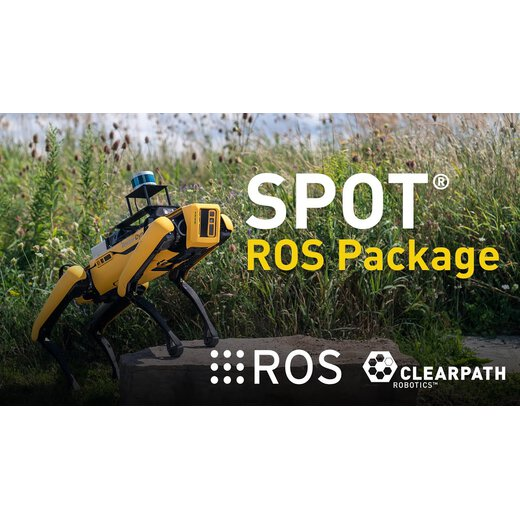 Clearpath Boston Dynamics SPOT Packages