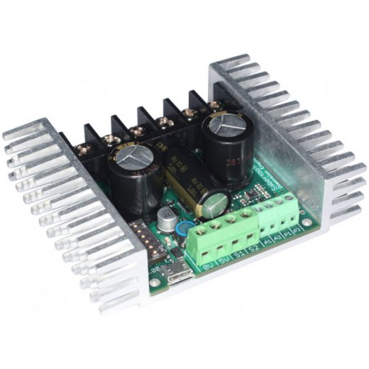 Sabertooth Dual 2x32A/6-24V Motorcontrollerboard