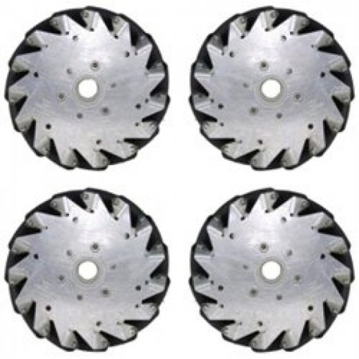 Mecanum Wheel 152mm Set